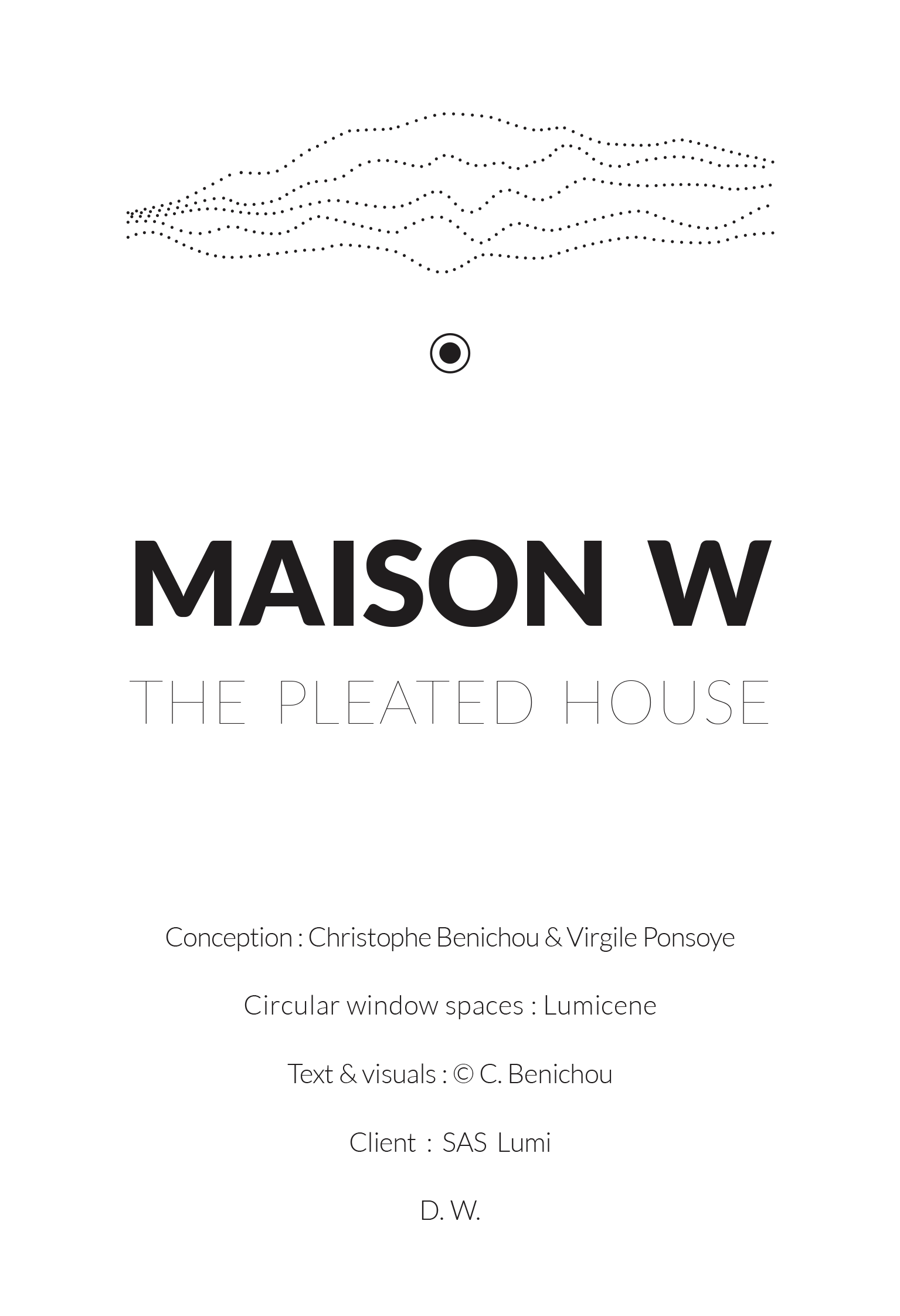 Maison W-the pleated house-logo-ENG