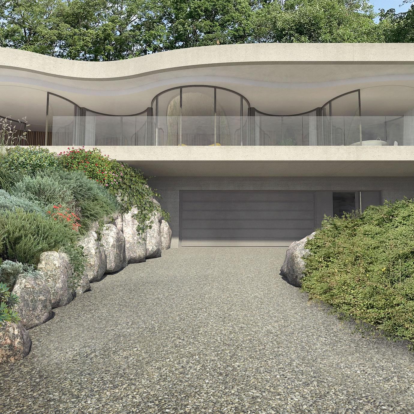 christophe-benichou-architectures-maisonW-the pleated house-exterior-entrance