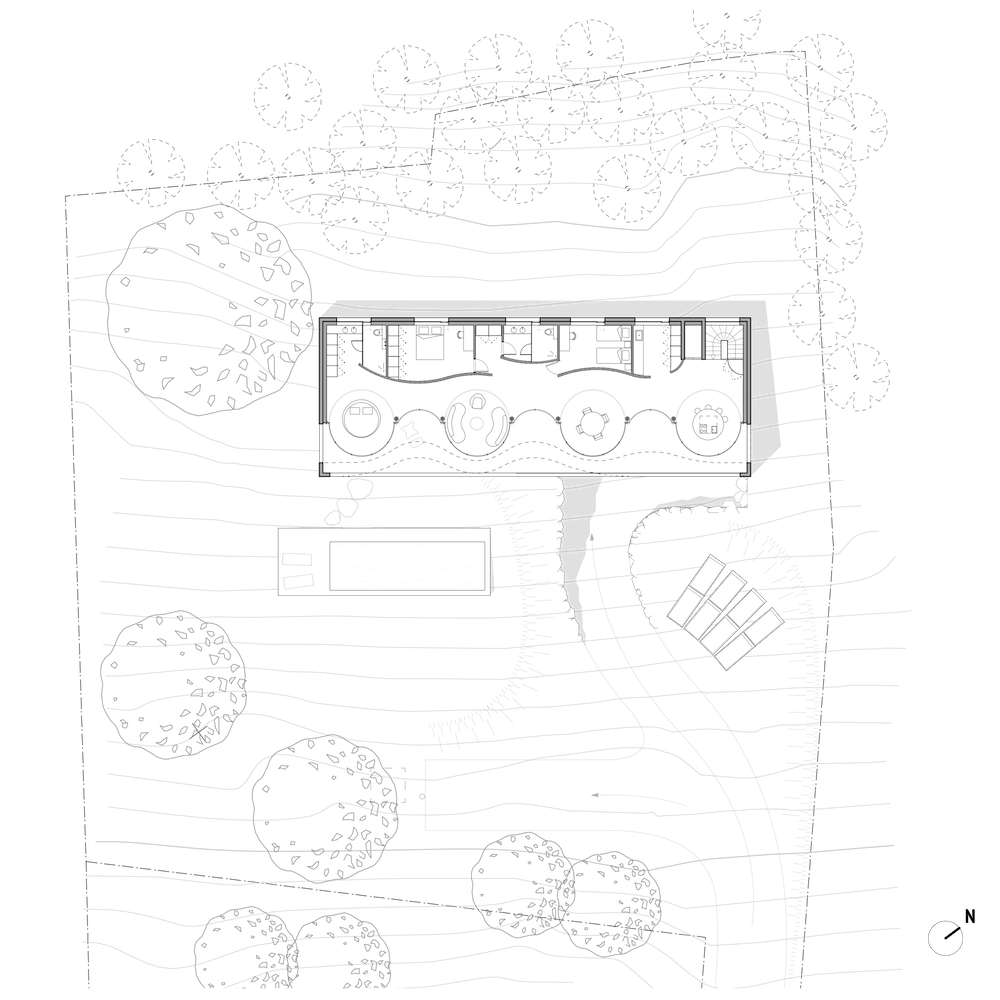 christophe-benichou-architectures-maisonW-the pleated house-plan